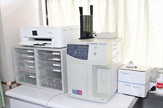 自動血球計算測定器